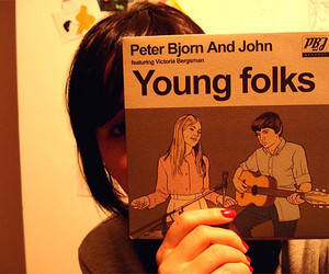 me, peter bjorn and john, and young folks image