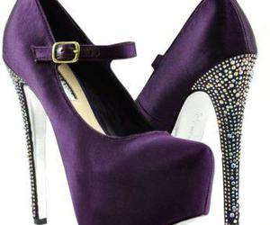 glitter, shoes, and trends image