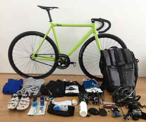 bike, fixed, and gear image