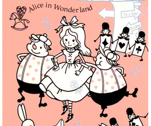 alice in wonderland, japanese, and kawaii image