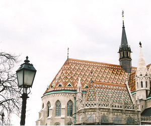 budapest, vintage, and architecture image