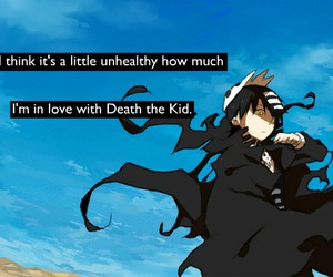 manga, soul eater, and death the kid image