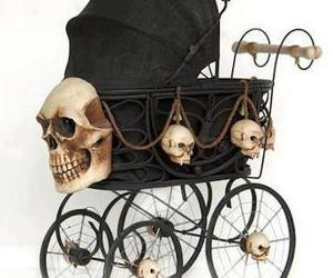 baby and gothic image