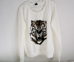 fashion, tiger, and clothes image