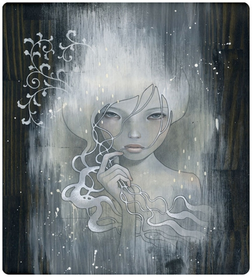 art, audrey kawasaki, and illustration image