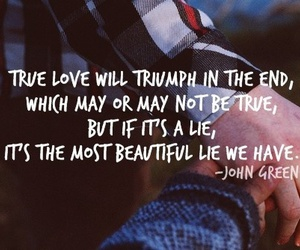 john green, quote, and love image