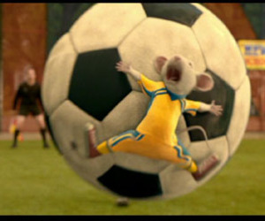 soccer, stuart little, and cute image