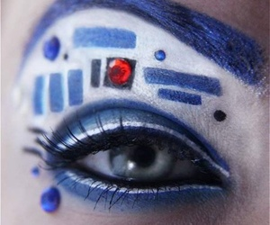 star wars, r2d2, and eye image
