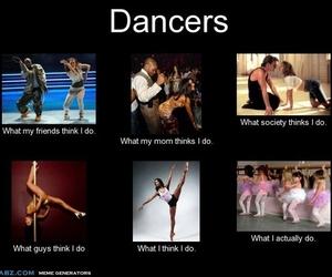 ballerina, dancers, and dancing image
