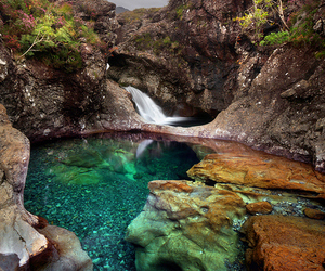 nature, scotland, and water image