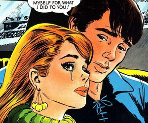 beautiful, comic book, and comics image