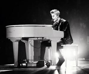 justin bieber, believe, and piano image