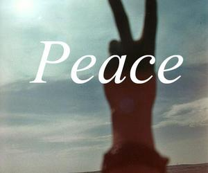 peace, cool, and quote image