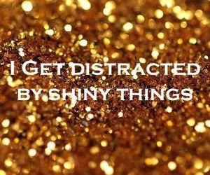 shiny, glitter, and gold image