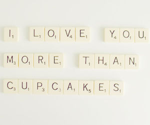 love, cupcake, and quote image