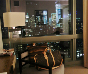 city, luxury, and Louis Vuitton image