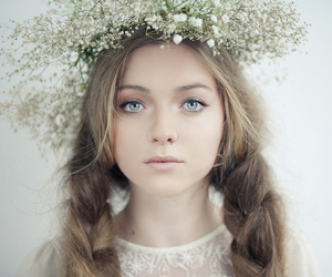 girl and portrait image