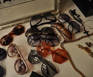 sunglasses and chanel image
