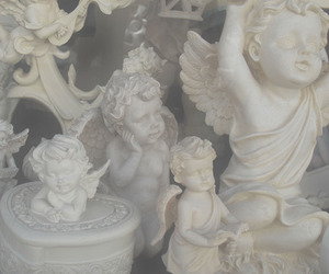 angel, white, and pale image