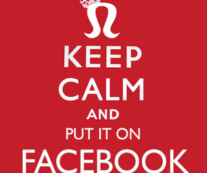 keep calm and facebook image