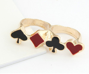 ring, cards, and cute image