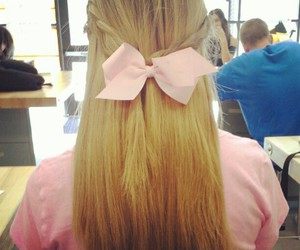 adorable, hair, and bow image