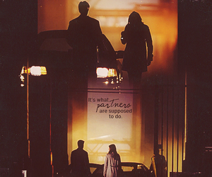 castle, partners, and kate beckett image