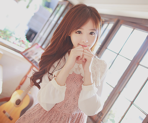 asian, girl, and hands image