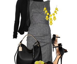 blazer, combinations, and dress image