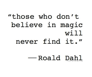 quote, magic, and text image