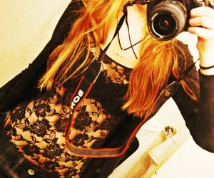 camera, photography, and t-shirt lace image