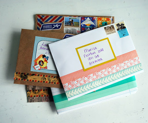 Letter, postcrossing, and letters image
