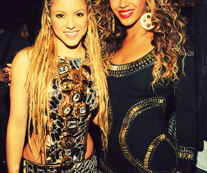 shakira, beyoncé, and beautiful image