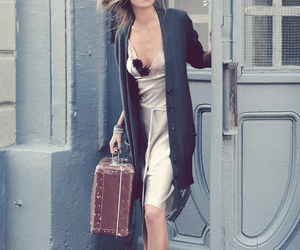 fashion, model, and door image