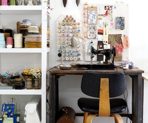 art, scandinavian style, and home office image