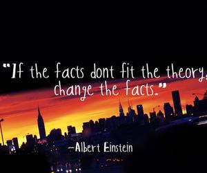 quote, Albert Einstein, and fact image