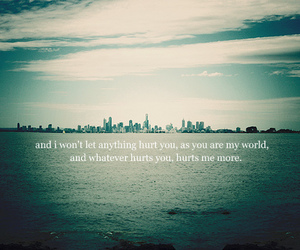 hurt, text, and city image
