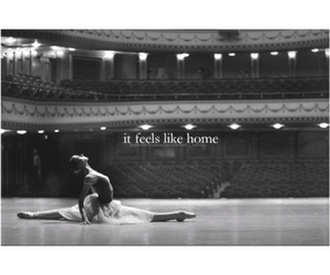 dance and home image