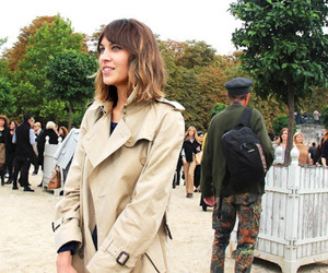 alexa chung, style, and coat image