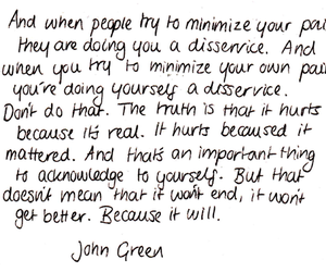 beautiful, john green, and text image