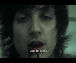 bring me the horizon, it never ends, and oliver sykes image
