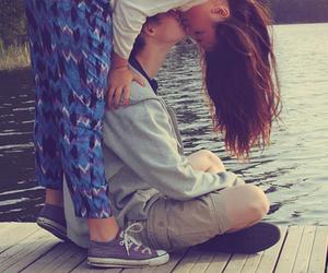 love, kiss, and girl image