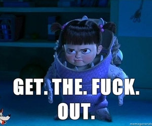 boo, monsters inc, and cute image