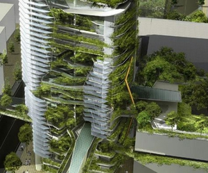 architecture, eco, and green image