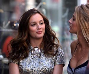 bffs, blair, and gossip girl image