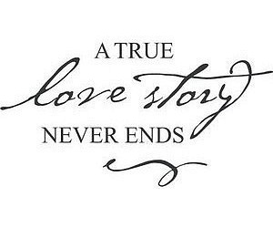 text, love story, and quote image