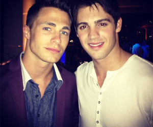 colton haynes, teen wolf, and the vampire diaries image