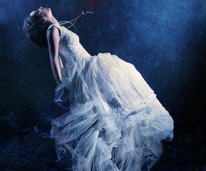 digital art, dress, and expressive image