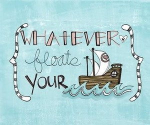 boat, quote, and text image