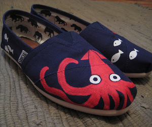 toms, shoes, and octopus image